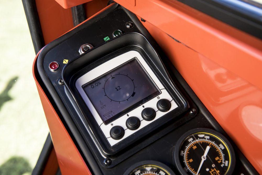 Ditch Witch JT60 - Prawy panel kontrolny - zdalny wyświetlacz Subiste® TD Recon™